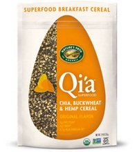 Natures Path B26718 Natures Path Qia Superfood Original Flavor Chia  Buckwheat and Hemp Cereal -10x7.94 Oz