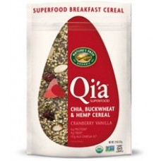 Natures Path B26719 Natures Path Qia Superfood Cranberry Vanilla Chia  Buckwheat and Hemp Cereal -10x7.94 Oz
