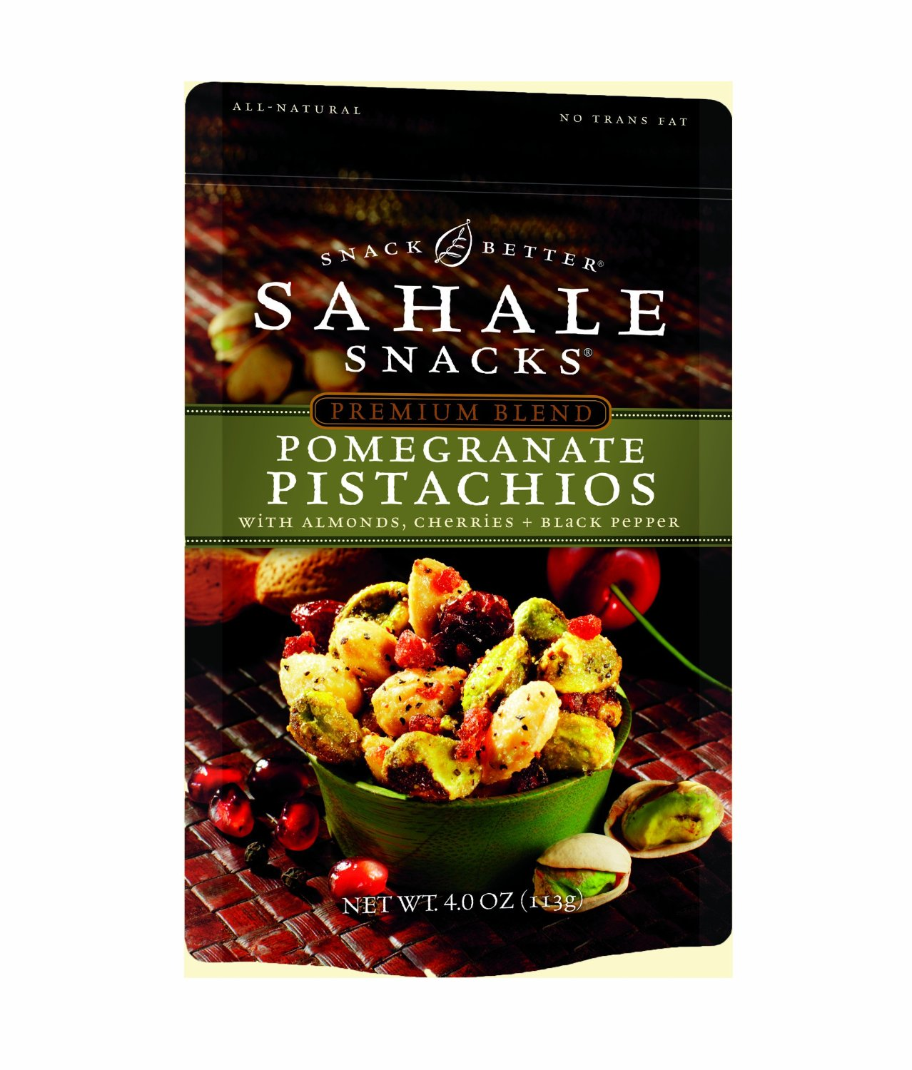 Sahale Snacks B26781 Sahale Snacks Pomegranate Pistachios -6x4 Oz