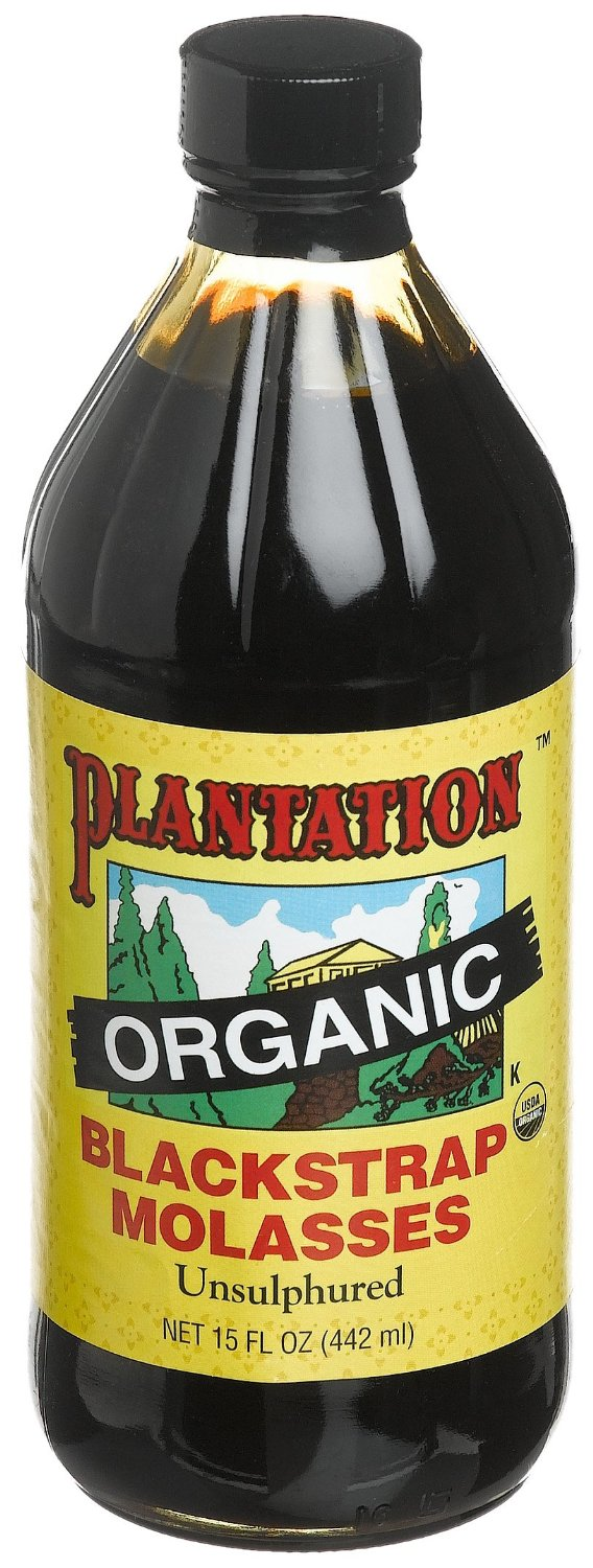 Plantation B33091 Plantation Organic Blackstrap Molasses -12x15 Oz
