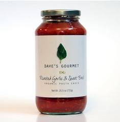 Daves Gourmet B64742 Dave S Gourmet Roasted Garlic and Sweet Basil -6x25.5 Oz