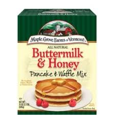 Maple Grove Farms B74255 Maple Grove Honey and Buttermilk Pancake and Waffle Mix -6x24 Oz