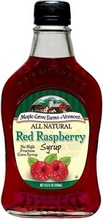 Maple Grove Farms B74259 Maple Grove Red Raspberry Syrup -12x8.5 Oz