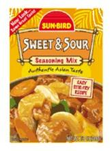 Sunbird B84773 Sunbird Sweet and Sour Seasoning Mix -24x0.88 Oz