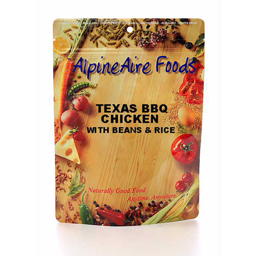 Alpine Aire Foods 10406 TexasBBQ Chicken withBeans Serves2