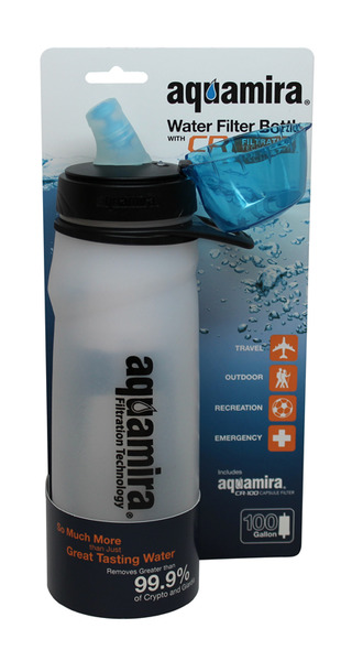 McNett 41210 New Capsule Water Bottle and Filter