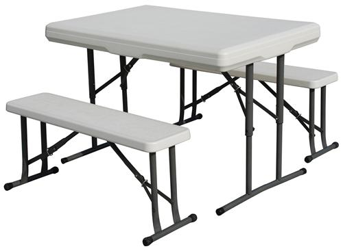 Stansport Outdoor 616 Heavy Duty Picnic Table & Bench Set