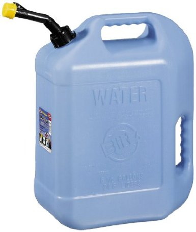 Hopkins - F3 Brands 50863 Self-Venting Water Can - Pack of 4