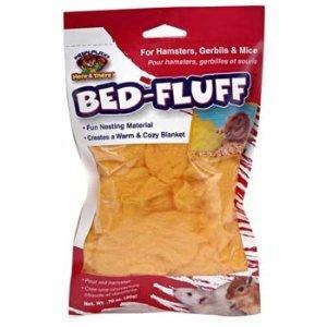 Penn-plax Inc SAM474 Bed Fluff For Hamsters & Mice