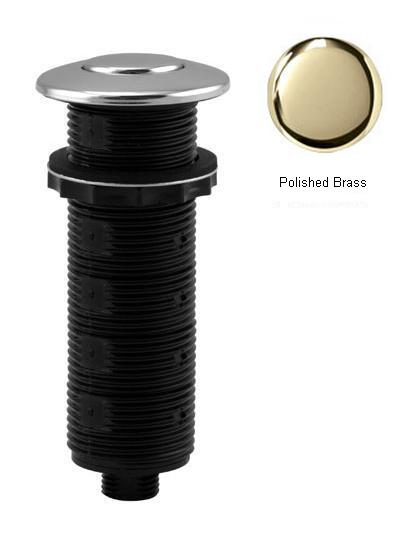 Westbrass ASB-B3-03 Replacement Air Switch Button - Polished Brass