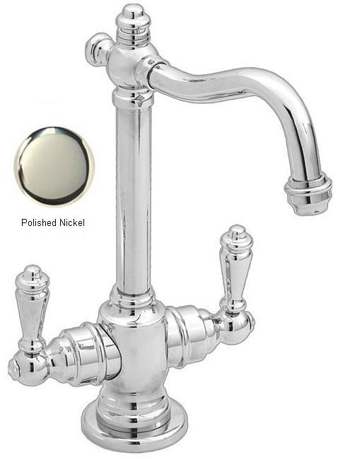 Westbrass D205-05 Victorian Hot-Cold Water Dispenser - Polished Nickel
