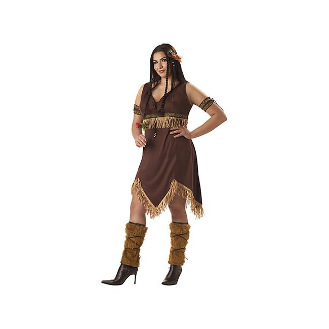 California Costume Collections CC01673-3X Womens Plus Indian Princess Costume Size 1X