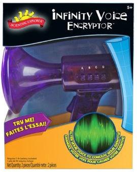 POOF-Slinky 018500BL Scientific Explorer Infinity Voice Encryptor