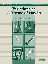 Alfred 00-12226 Variations on a Theme of Haydn