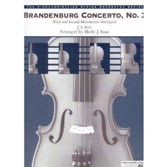 Alfred 00-12756 Brandenburg Concerto No. 3