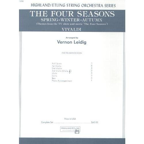 Alfred 00-12782 The Four Seasons (Spring- Winter- Autumn)
