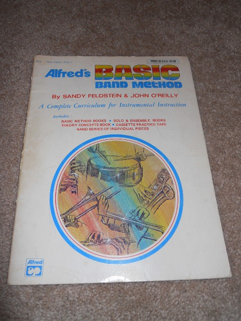 Alfred 00-1598 Alfred s Basic Band Method- Book 1