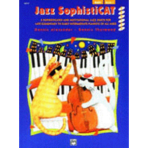 Alfred 00-14406 Jazz SophistiCat- Book 1