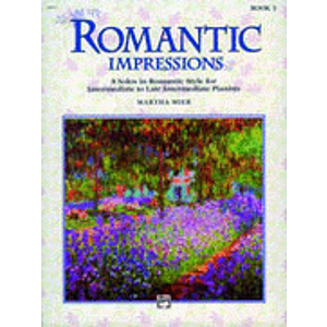Alfred 00-14421 Romantic Impressions- Book 1