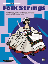 Alfred 00-15060 Folk Strings for String Quartet or String Orchestra
