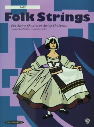 Alfred 00-15140X Folk Strings for String Quartet or String Orchestra