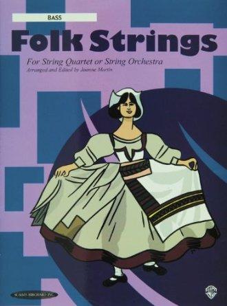 Alfred 00-15140X Folk Strings for String Quartet or String Orchestra