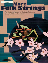 Alfred 00-159X0 More Folk Strings for String Quartet or String Orchestra
