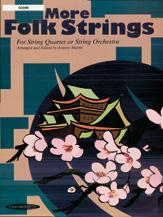 Alfred 00-159X0 More Folk Strings for String Quartet or String Orchestra
