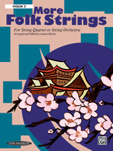 Alfred 00-16110X More Folk Strings for String Quartet or String Orchestra