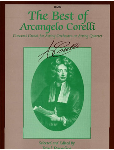 Alfred 00-EL9669 The Best of Arcangelo Corelli