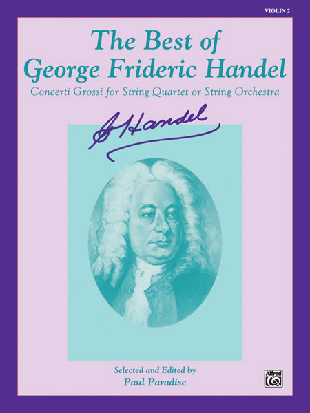Alfred 00-EL9826 The Best of Handel