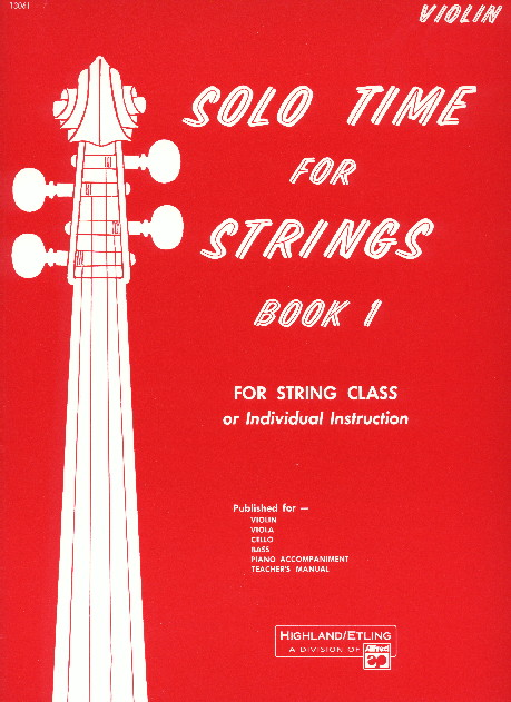 Alfred 00-13061 Solo Time for Strings- Book 1