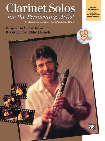 Alfred 00-8351 Clarinet Solos for the Performing Artist