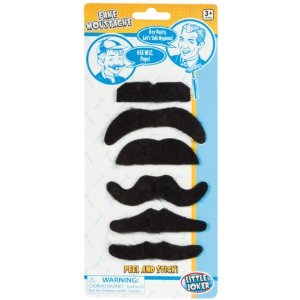 Toysmith Fake Moustaches