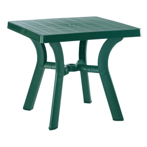 Compamia ISP168-GRE Viva Resin Square Dining Table 31 inch Green