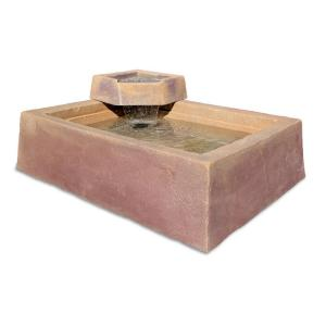 DekoRRa Products 210-WF-SD Artificial Stone Water Feature - Sedona Sunset