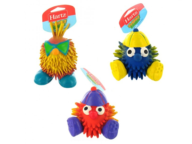 Hartz 86633 Assorted Latex Dog Toy