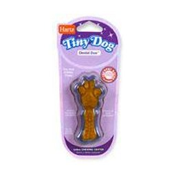 Hartz 02413 Assorted Tiny Dog Dental Duo Dog Toy Edible Chew Combo