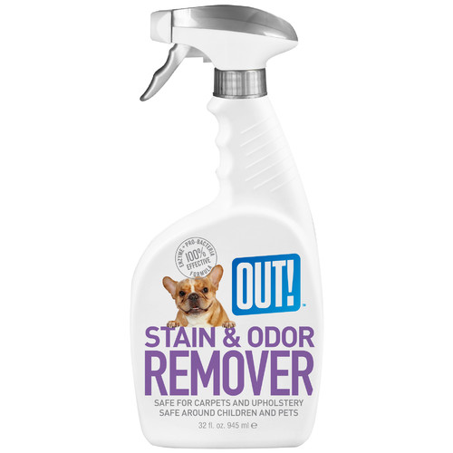 Out 70222 32 Oz Pet Stain & Odor Remover JNSN55922
