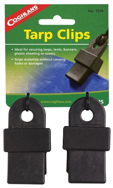 Coghlans 1014 2 Count Tarp Clips