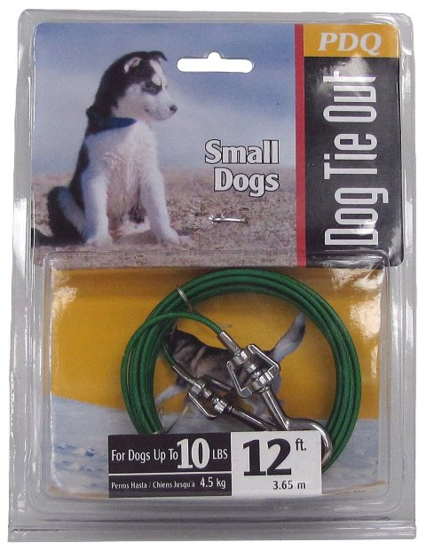Boss Pet Products Q2212 000 99 12 ft. Puppy Tie Out Cable
