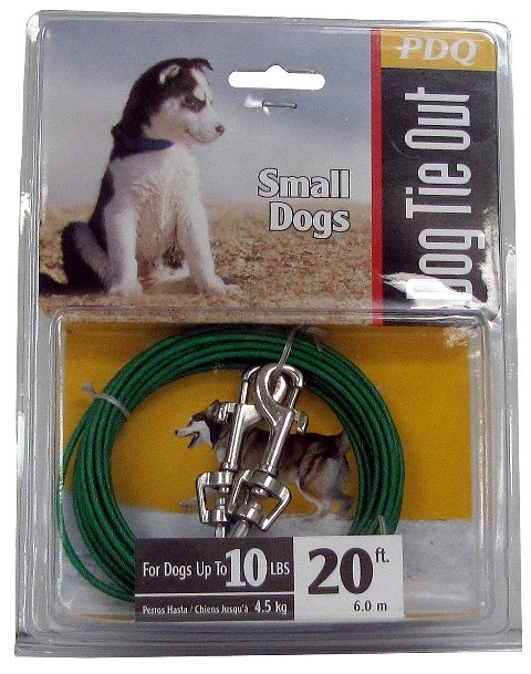 Boss Pet Products Q2220 000 99 20 ft. Puppy Tie Out Cable