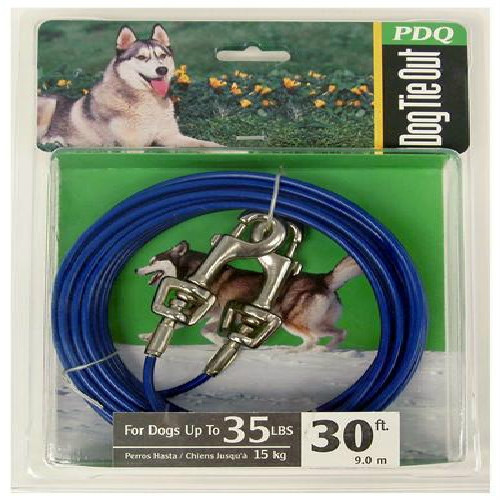Boss Pet Products Q2330 000 99 30 ft. Medium Dog Cable Tie Out