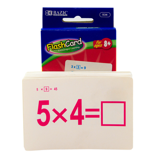 Bangkit Usa Inc 534-24 Bangkit Usa Inc 534-24 Multiplication Flash Cards 36 Count