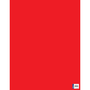 Royal Consumer Product 24305 Royal Consumer Product 24305 22 in. X 28 in. Red Poster Board 25 Count