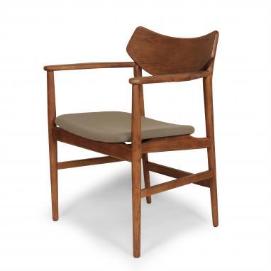 Kirch FEC2022GREY The Borlange Arm Chair - Grey