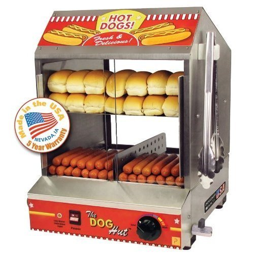 Paragon - Manufactured Fun 8020 Dog Hut Hot Dog Steamer PRGI081