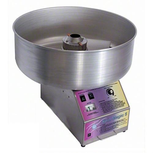 Paragon - Manufactured Fun 7105200 Spin Magic 5 Cotton Candy Machine with Metal Bowl