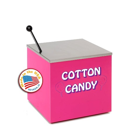 Paragon - Manufactured Fun 3060030 Small Cotton Candy Stand in Pink