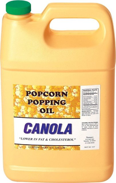 1017 Country Harvest Canola Popcorn Popping Oil